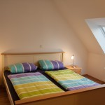 Ferienwohnung an der Nordsee Doppelbett