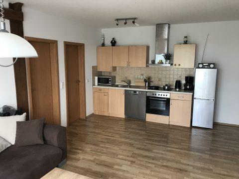 Ferienwohnung an der Nordsee mit Küchenblock